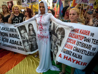 Hundreds Protest Murder of LGBTQ Activist in Istanbul