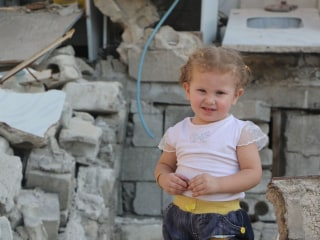 Aleppo Girl Elaph, 2, Can't Play Outside Because of Snipers