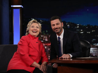 On Jimmy Kimmel, Hillary Clinton Jokes About Health Rumors, Email Woes