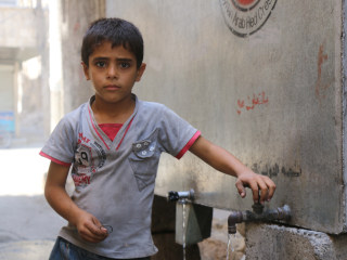 Ibrahim Alsaid, 6, Longs For School Amid Aleppo Chaos