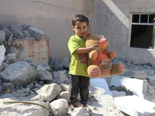 Aleppo Airstrike Destroyed All But Zakarya Badawi's Teddy Bear
