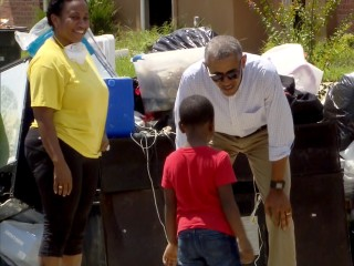 'You're Not Alone,' Obama Tells Louisiana Flood Survivors