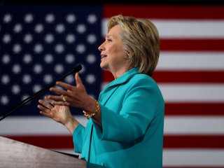 Clinton: Trump Taking 'Race-Baiting Ideas' Into the 'Mainstream'