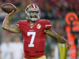 49ers Quarterback Colin Kaepernick Defends National Anthem Protest