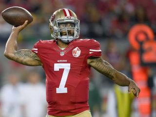 49ers Quarterback Colin Kaepernick Defends National Anthem Protest