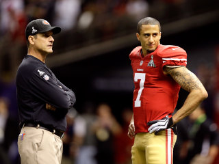 Jim Harbaugh Disagrees with Colin Kaepernick's Anthem Protest