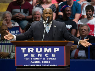 Trump Surrogate Pastor Mark Burns Defends Controversial Tweet