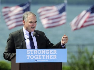 Kaine Launches Attack on Trump's 'Threat to American Democracy'