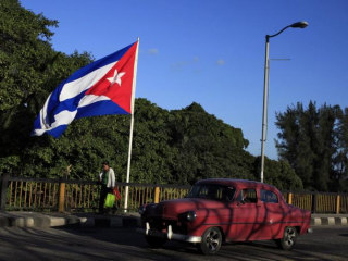 U.S., Cuba Celebrate Today's Historic First Commercial Flight