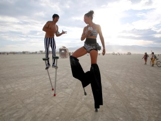 Burning Man Conquers 30 Years in Dusty Nevada Desert
