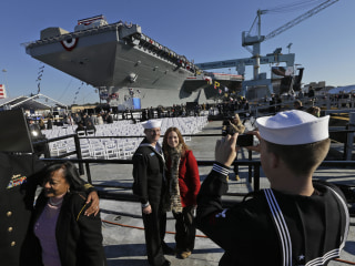 Pentagon Orders Review of $13 Billion Warship