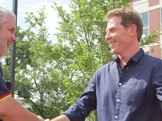 Bobby Flay surprise selfless man who barbecues for people in need