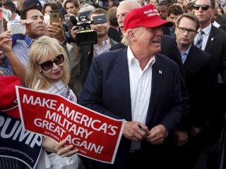 Military Communities Favor Trump Over Clinton