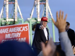 Poll: Trump Leads Clinton Among Military and Veteran Voters