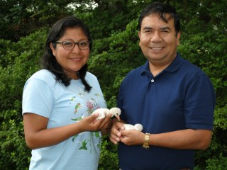 Bolivian Couple Lead the Way in Conserving, Caring for Rare Flamingos