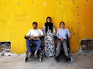 Two Syrians in Wheelchairs Make Remarkable Escape From ISIS