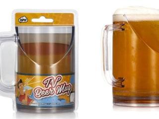 TV Beer Mug Solves a Problem We Didn't Know We Had