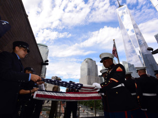 Flags Destined for Military Bases Dedicated on 9/11 Anniversary