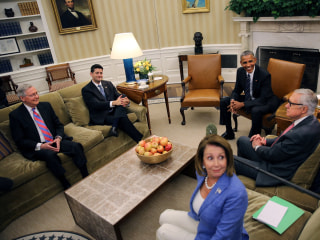 President, Congressional Leaders Come Together to Talk Shutdown, Zika Funding