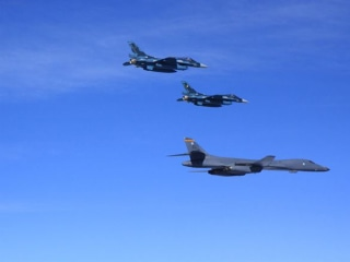 North Korea Blasts U.S. B-1 Bomber Flights as 'Bluffing, 'Reckless'