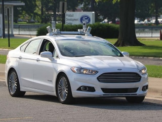 Hands Off! Riding Along in Ford's Autonomous Fusion