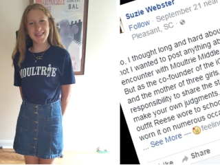 6th-grader 'humiliated' after teacher says her skirt is for 'clubbing'