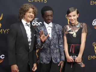 'Stranger Things' Kids Steal Show at Emmys, Help Feed Audience
