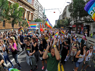 Amid Heightened Security, Belgrade's LGBTQ Community Marches for Equality