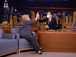 Hillary Clinton Ridicules Trump-Putin 'Bromance' on 'Tonight Show Starring Jimmy Fallon'