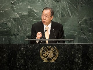 Outgoing UN Head Pledges to Continue Working for AIDS-Free World