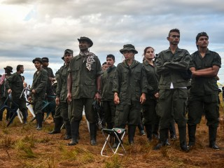 Political Future: Colombian Rebels Prepare For Peace