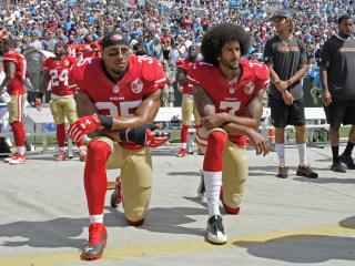 Trump Takes Another Jab at Ex-49ers Quarterback Colin Kaepernick