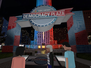 Virtual Democracy Plaza: Join Steve Kornacki, NBCU talent in free virtual reality events