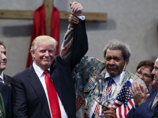 Is Trump's Minority Outreach Helping Among White Voters?