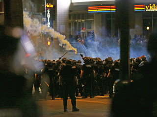 Violent Protests Flare for Second Night in Charlotte