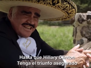 Vicente Fernández Endorses Hillary Clinton Through a 'Corrido'