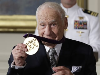 Mel Brooks, Morgan Freeman Lead List of Award Winners at White House