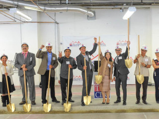 Community Marketplace Breaks Ground in America's Only Thai Town