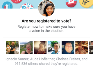Social Media Networks Launch Voter Registration Drives