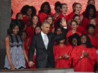 Obama Dedicates Smithsonian's 'Glorious' New African-American Museum