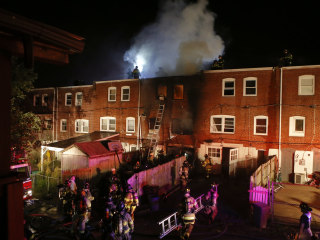 2 Firefighters Die, 2 Hurt Battling Delaware Rowhouse Blaze