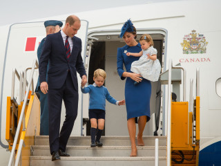 Prince William, Kate Middleton Tour Canada With Prince George and Princess Charlotte