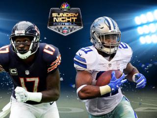 LIVE ON NBC: Cowboys, Bears Battle in Dallas