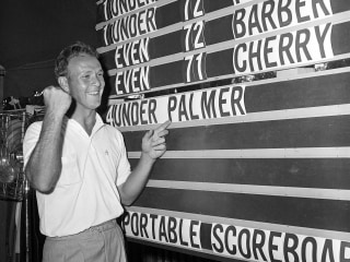 Golfers Lionize Arnold Palmer on Social Media