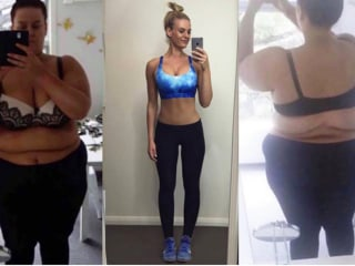 Weight-loss success: 7 steps this woman took to lose half her size