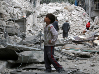Aleppo Endures Heavy Bombardment After Failed Ceasefire