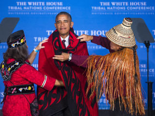 Dakota Pipeline Protests: President Obama Tells Tribes 'You're Making Your Voices Heard'