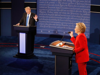 Poll: After Debate, Women Think Less of Trump and Better of Clinton