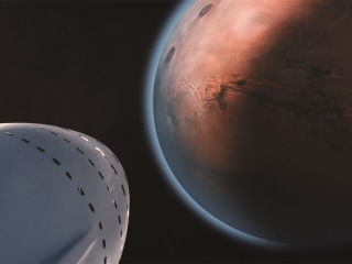 Elon Musk Makes His Case for Colonizing Mars