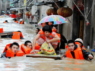 Deadly Typhoon Megi Blows Through Taiwan With High Winds and Floods